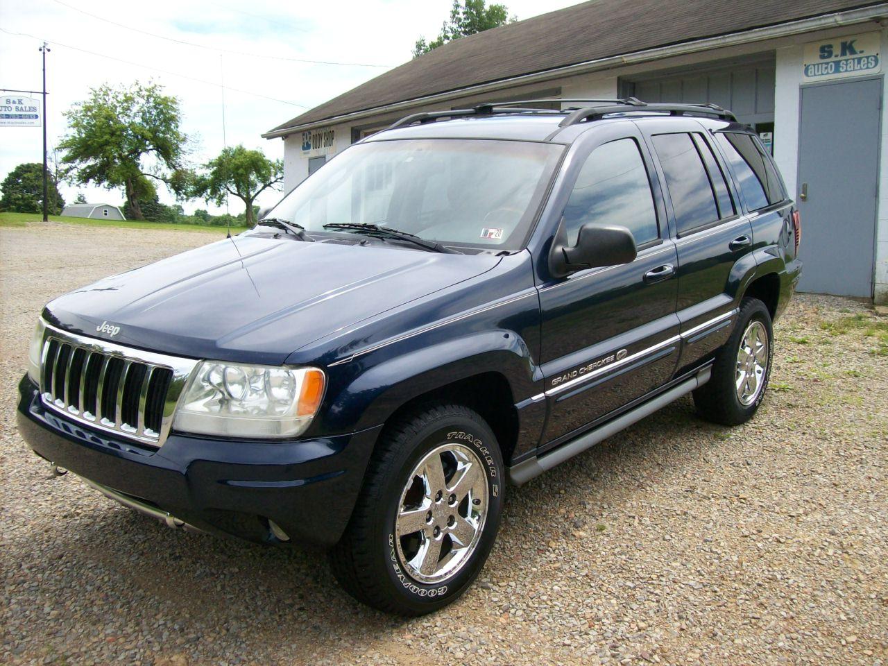 2004 Jeep Grand Cherokee Overland 4 7 High Output 4 4 114k S K Auto Sales